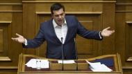 Tsipras will die Zähne zusammenbeißen