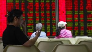 Leichter Schwächeanfall des Renminbis