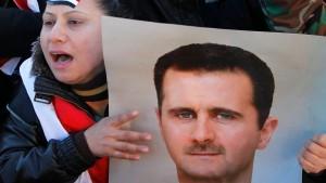 Syrien lehnt Rückzug von Präsident Assad ab