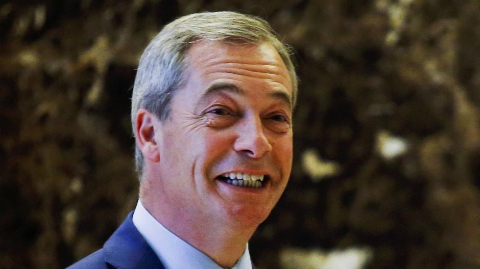 Der ehemalige und aktuelle Ukip-Chef Nigel Farage