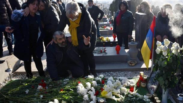 Frust und Verzweiflung um Berg-Karabach