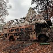 Ausgebrannt in Colo Heights: Der Besitzer Chad Richards hat Fahrzeuge im Wert von umgerechnet 185.000 Euro verloren.