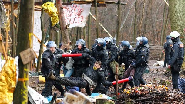 Polizeieinsatz für 36 Millionen Euro