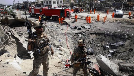 Zahlreiche Tote nach Anschlägen der Taliban
