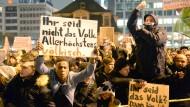 Pegida sagt Schweigemarsch in Frankfurt ab