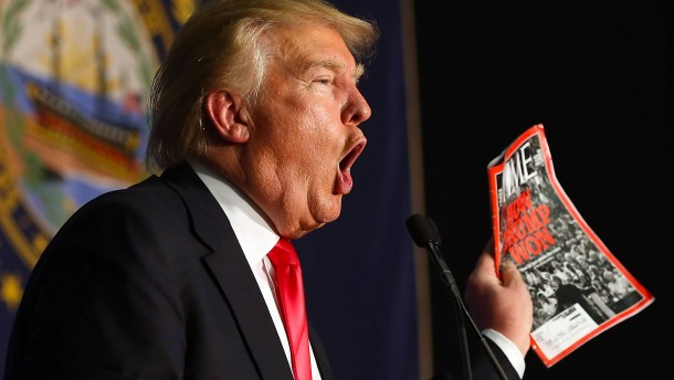 "Trumps nächste Posse um ""Time""-Titelbild"
