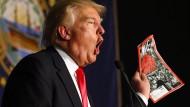 """Trump und das """"Time""""-Magazin - eine besondere Beziehung"""