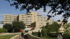 Das Texas Health Presbyterian Hospital in Dallas. Hier wird der Ebola-Patient behandelt.