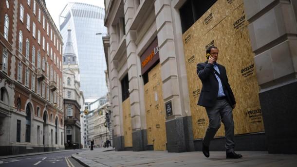 Viele Briten wollen nicht zurück an ihren Arbeitsplatz