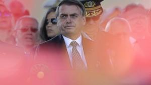 Bolsonaros Umfragewerte sinken