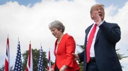Trump für Boris Johnson und harten Brexit