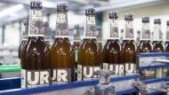 Ur-Weizen mit Dinkelmalz: Eine spezielle Biersorte der Pfungstädter-Brauerei.