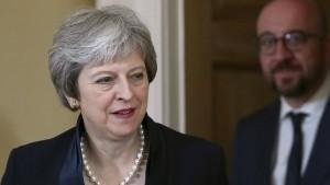 London muss Brexit-Abschiedsrechnung früher zahlen