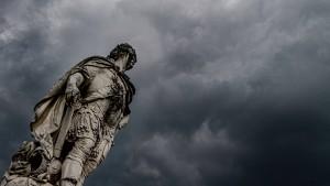 Gewitterfront zieht über Deutschland