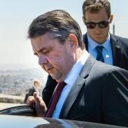 Außenminister Sigmar Gabriel in Israel
