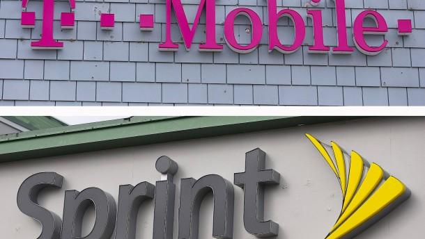 T-Mobile und Sprint vor dem Ziel