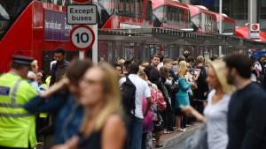 Londoner U-Bahn im Streik
