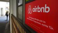 Das Logo vom Onlineübernachtungsdienst Airbnb