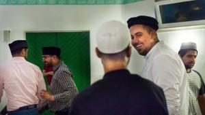 Gesprächskreis in der Moschee