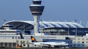 Notlandung am Flughafen München
