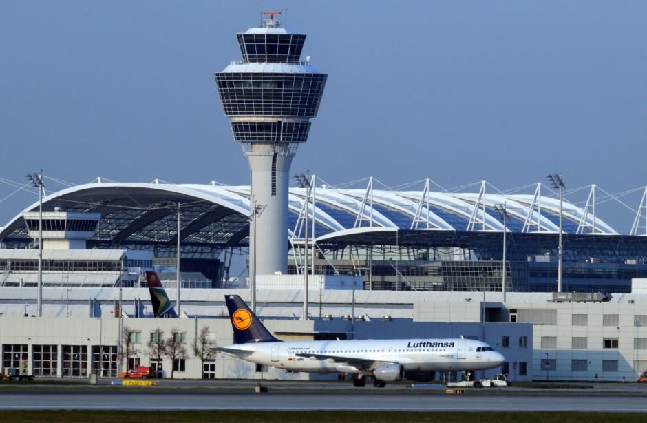Flughafen München Unfall