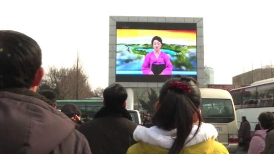 Nordkoreaner verfolgen Trump-Kim-Treffen