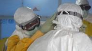 Ebola-Überlebender warnt vor 'Höllenfeuer'