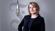 Angelika Fey für den Podcast für Deutschland