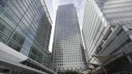 Der Hauptsitz der Europäischen Bankenaufsicht in London: Frankfurt will sie nach dem Brexit haben. Doch das wird wohl nichts.