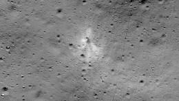 Nasa veröffentlicht Bild von Trümmern auf dem Mond