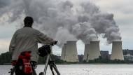 Düstere Aussichten? Ein Blick auf das Braunkohlekraftwerk in Jänschwalde