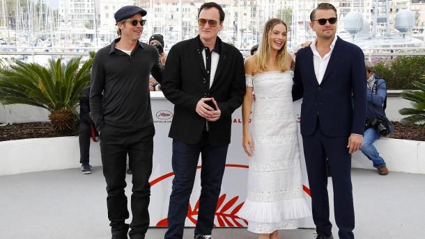 Tarantino stellt neuen Film vor