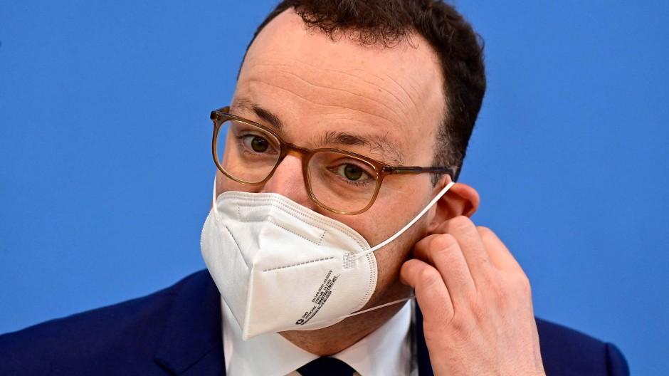 Bundesgesundheitsminister Jens Spahn am Freitag in Berlin.