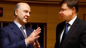 Brüssel fordert mehr Geld für den Euroraum