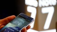 Ein Galaxy Note 7 ohne brennenden Akku