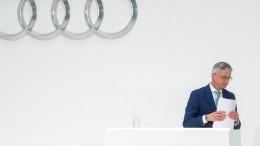 Audi-Chef Stadler in Untersuchungshaft