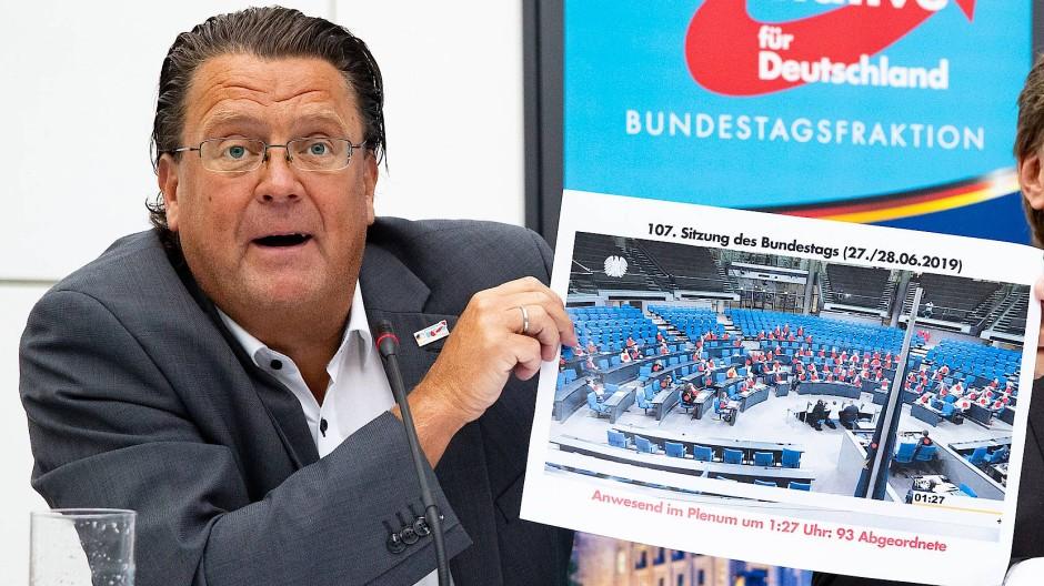Soll den Vorsitz des Rechtsausschusses im Bundestag niederlegen: AfD-Politiker Stephan Brandner