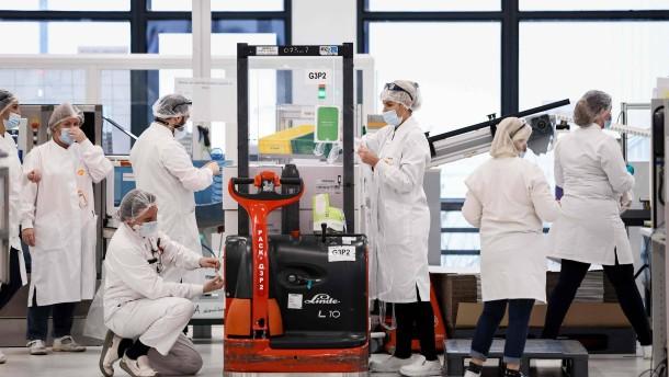 Curevac startet Zulassungsverfahren mit Europäischer Arzneimittelbehörde