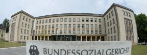 Das Bundessozialgericht in Kassel.