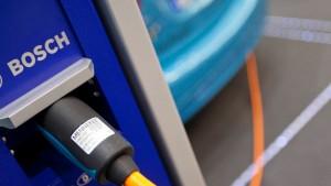 Bosch steht an der Spitze bei Subventionen für Elektroautos