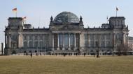 Das Parlamentarische Kontrollgremium tagt hinter verschlossenen Türen im Bundestag.
