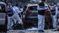 Zehn Verletzte nach Bombenexplosion in Istanbul