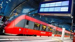 Maßnahmenpaket für die Bahn