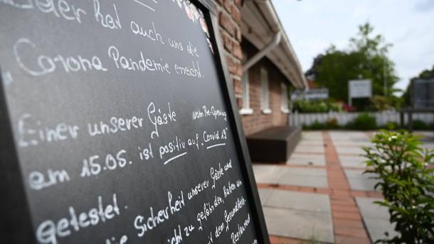 Besuchern von Restaurant im Kreis Leer droht Geldstrafe