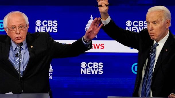 Biden gegen Sanders