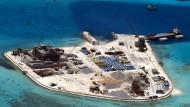 Chinesische Bauarbeiten im Südchinesischen Meer