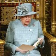 Queen Elizabeth II. am Donnerstag bei der Verlesung des Regierungsprogramms
