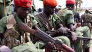 Soldaten der Opposition erreichen Juba.