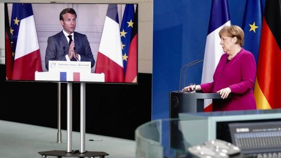 Merkel und Macron schlagen EU-Wiederaufbaufonds vor