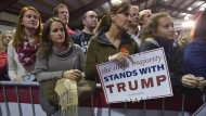 Eine schweigende Mehrheit für Trump? Anhänger des Republikaner in Leesburg